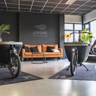 Showroom Lovens elektrische bakfiets